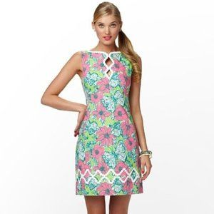 Lilly Pulitzer 4 Bloomin Cacoonin Shift Dress